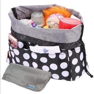 Baby Diaper Bag Insert Drawstring Organizer